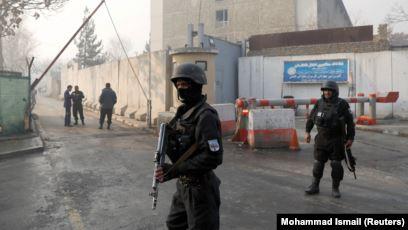 Неизвестные совершили нападение на здание полиции в Афганистане