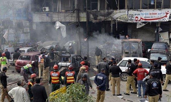 Число погибших при взрыве в Пакистане возросло до семи